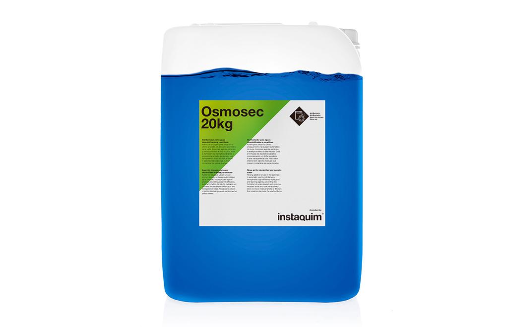 Osmosec, Abrillantador per a aigües descalcificades i osmòtiques
