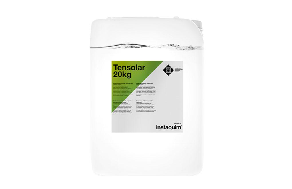 Tensolar, Aditivo desengrasante, especial para cremas solares