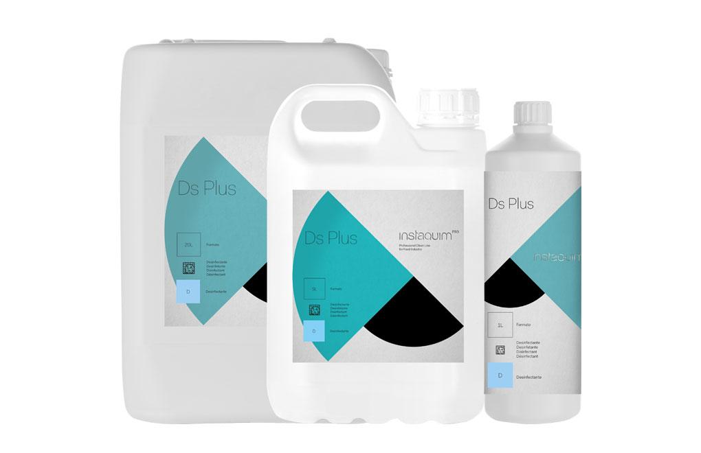 DS Plus, Bactéricide-fongicide rapide pour surfaces dans l'industrie alimentaire