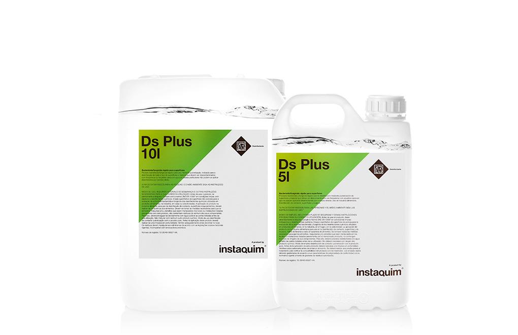 DS  Plus, Bactericida-fungicida rápido para superficies