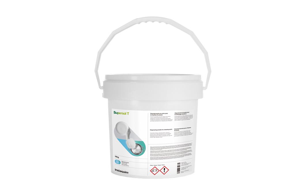 Supersol T, Desengrasante en polvo para la limpieza de piezas