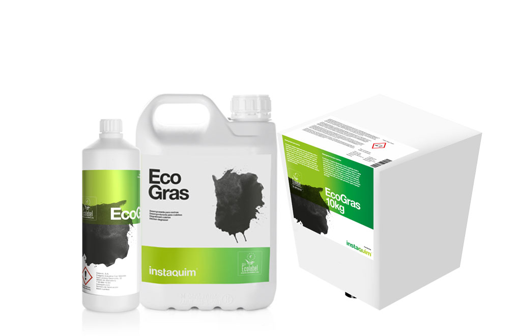 Eco Gras, Desengordurante para cozinhas ecoloabel