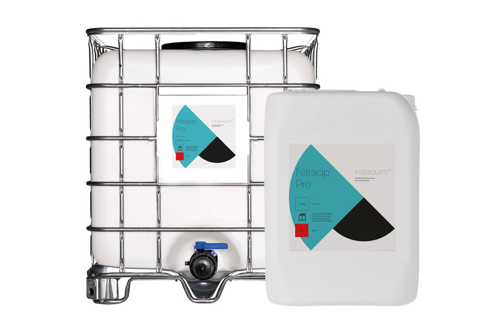 Nitracip Pro, Desincrustante fuertemente ácido no espumante