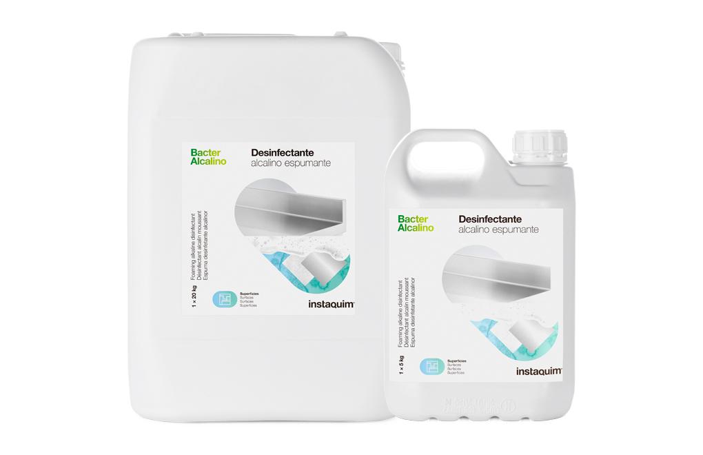 Bacter  Alcalino, Desinfectante alcalino espumante