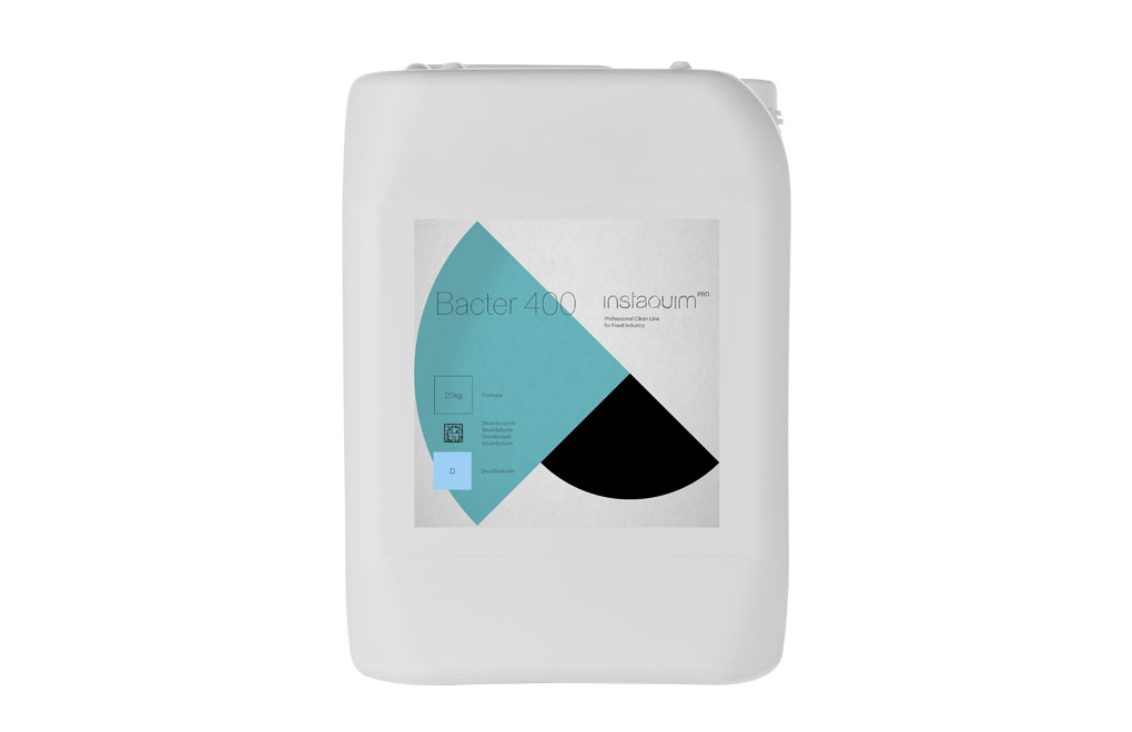 Bacter 400, Desinfectante para instalaciones ganaderas