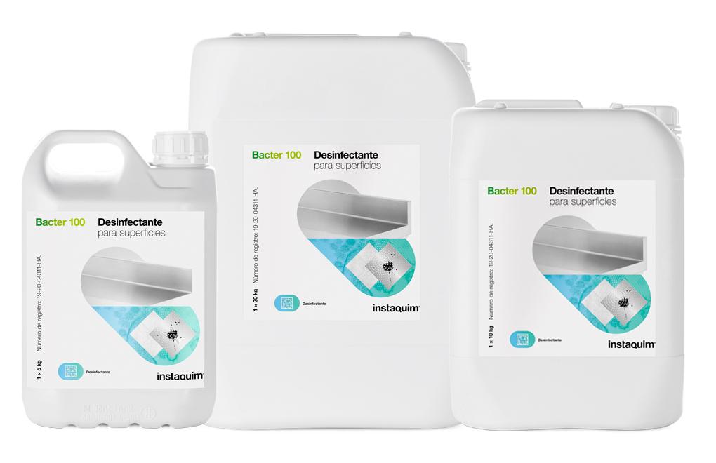 Bacter  100, Desinfectante para superficies