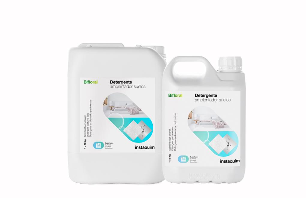 Bifloral, Detergente ambientador suelos