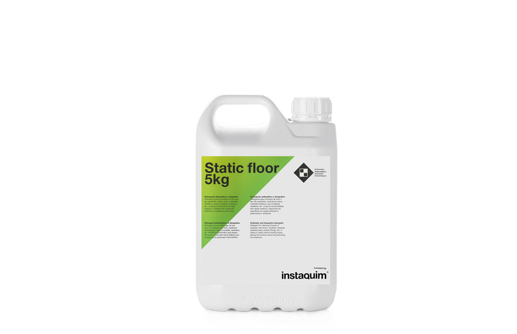 Static Floor, Detergent antiestàtic