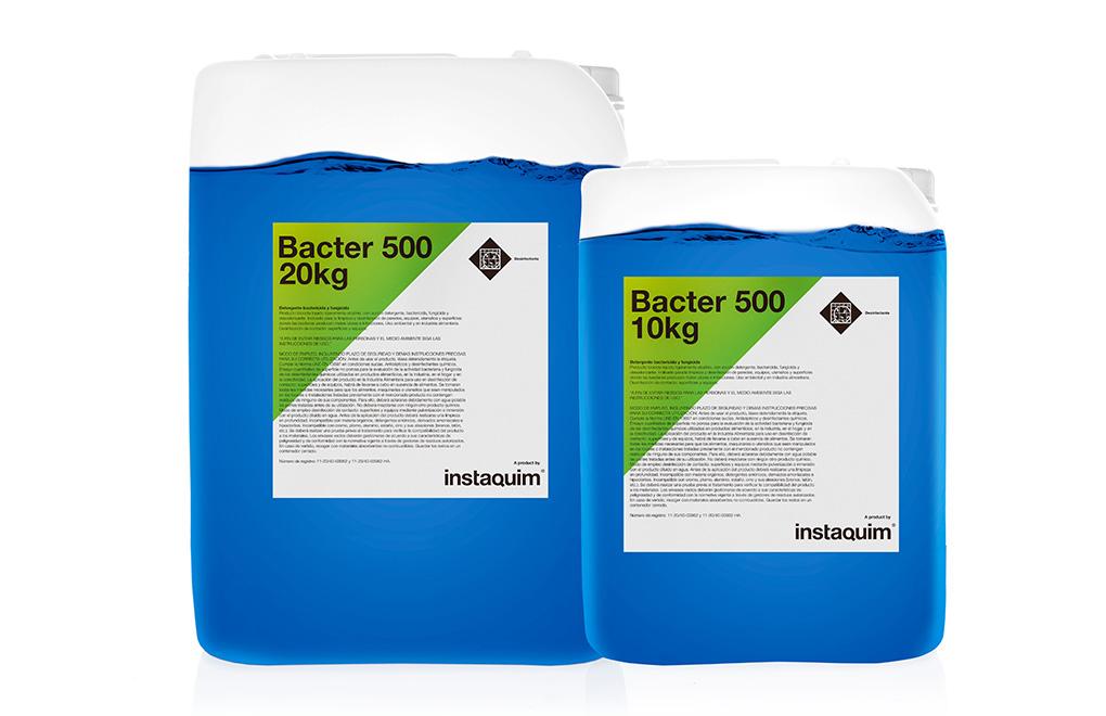 Bacter  500, Détergent bactéricide et fongicide