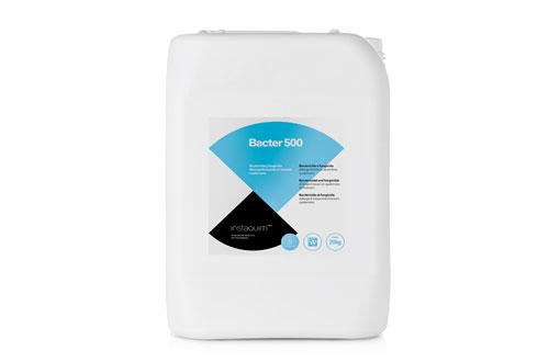 Bacter 500, Detergente bactericida y fungicida para la industria alimentaria