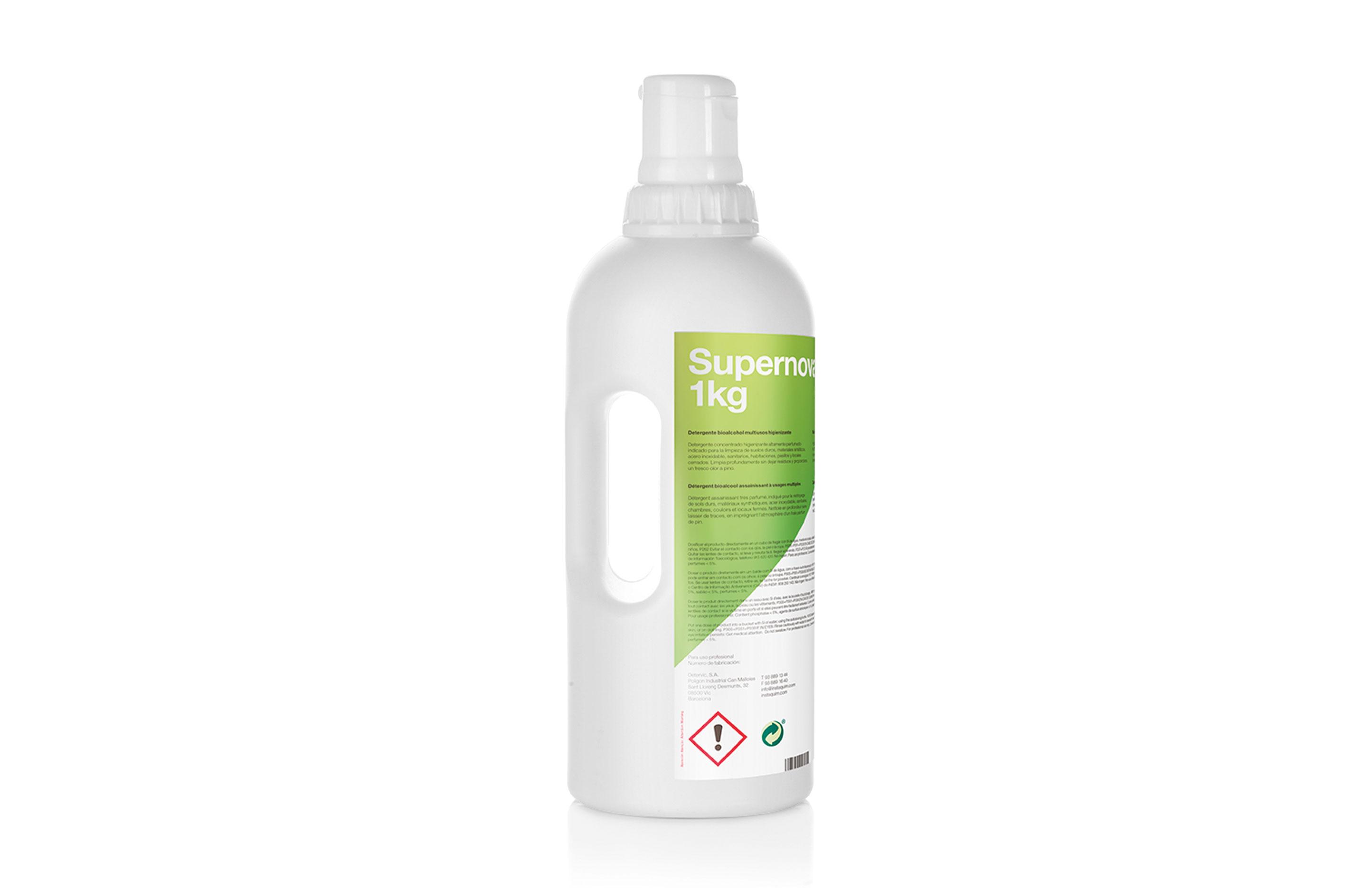 Supernova, Multipurpose hygienizing bioalcohol detergent - Autodosis