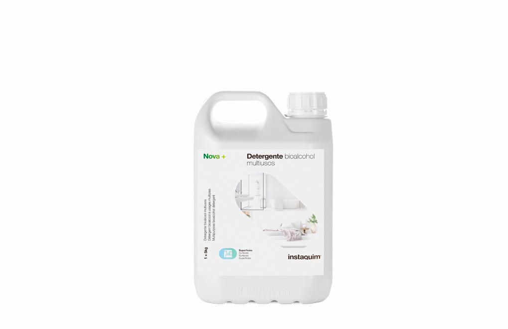 Nova +, Detergente bioalcohol multiusos higienizante