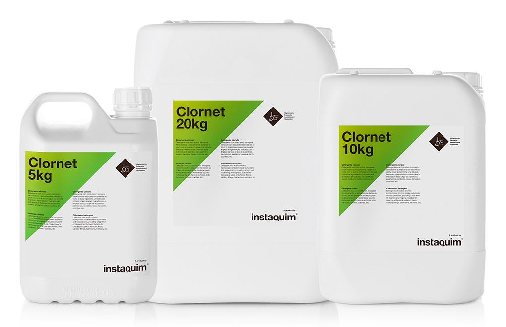 Clornet, Detergente clorado