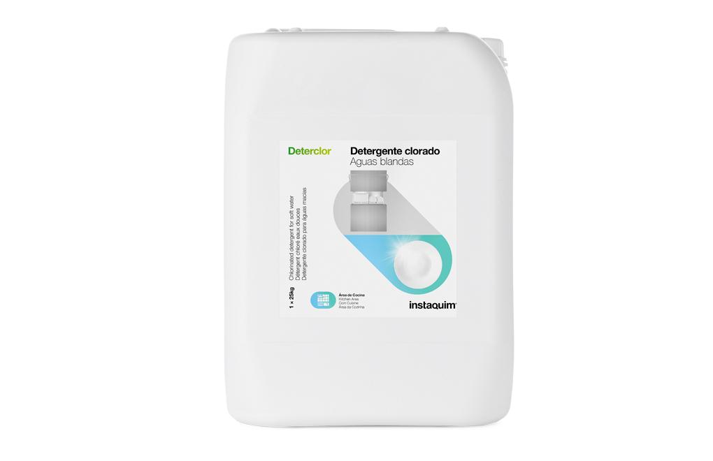 Deterclor, Detergente clorado para aguas blandas