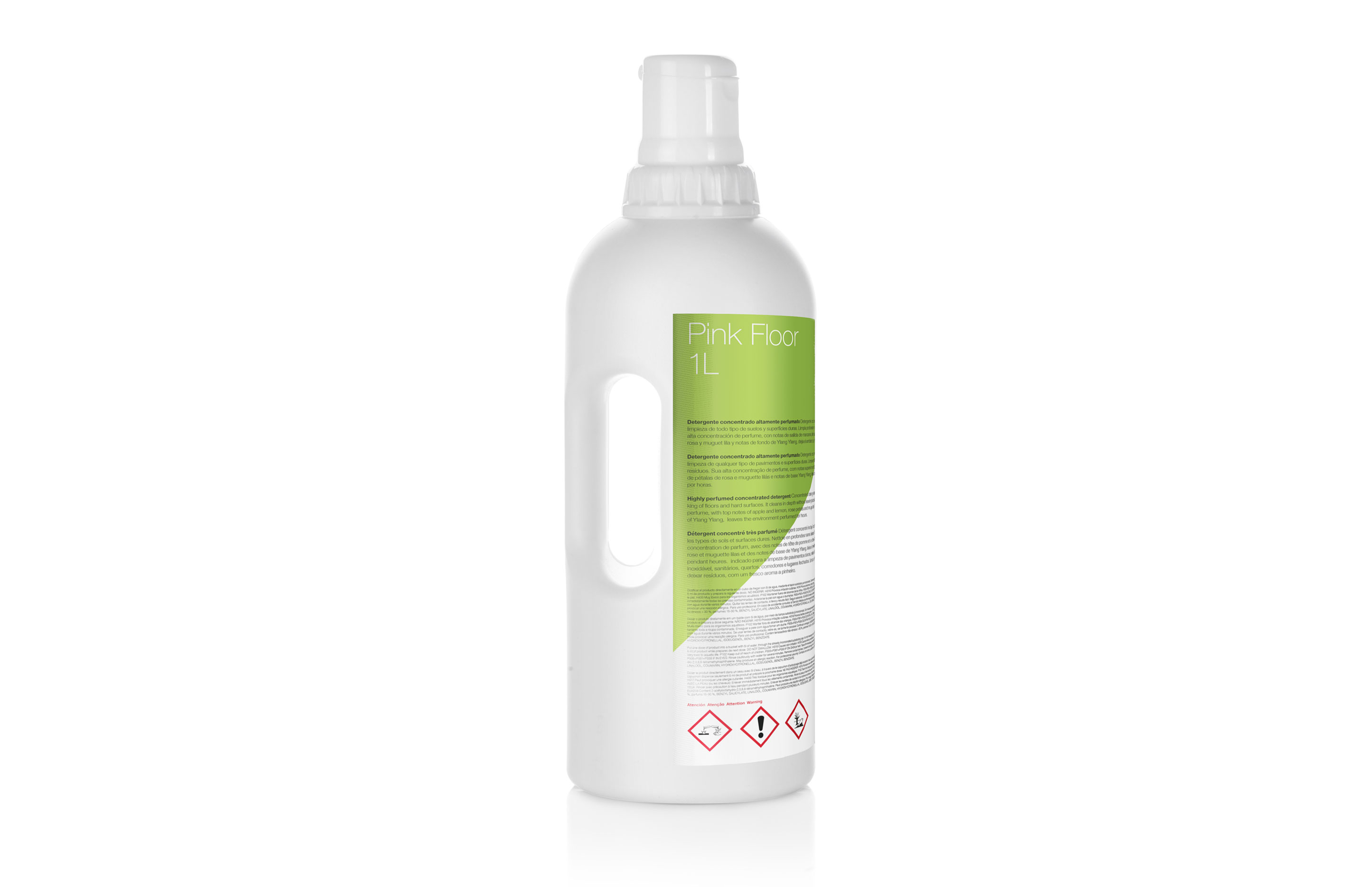 Pink Floor, Detergent concentrat altament perfumat