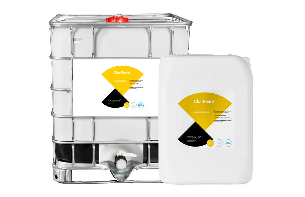 Clor Foam, Detergent desgreixador clorat