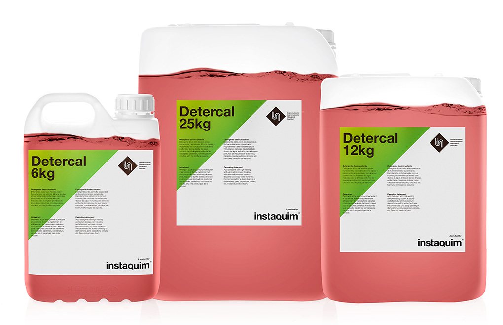 Detercal, Detergent desincrustant
