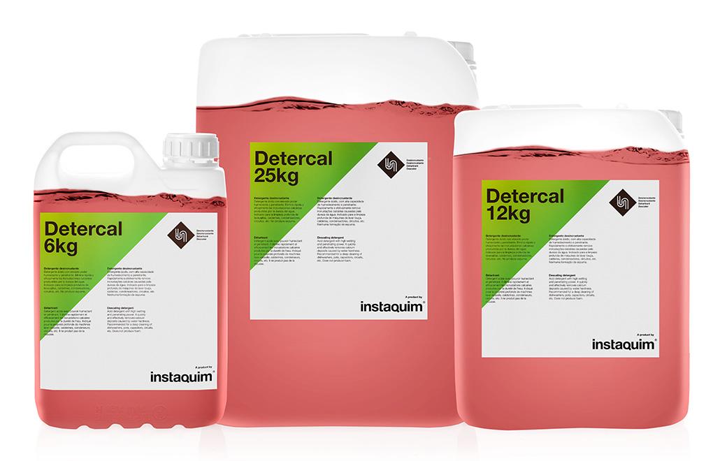 Detercal, Detergente desincrustante