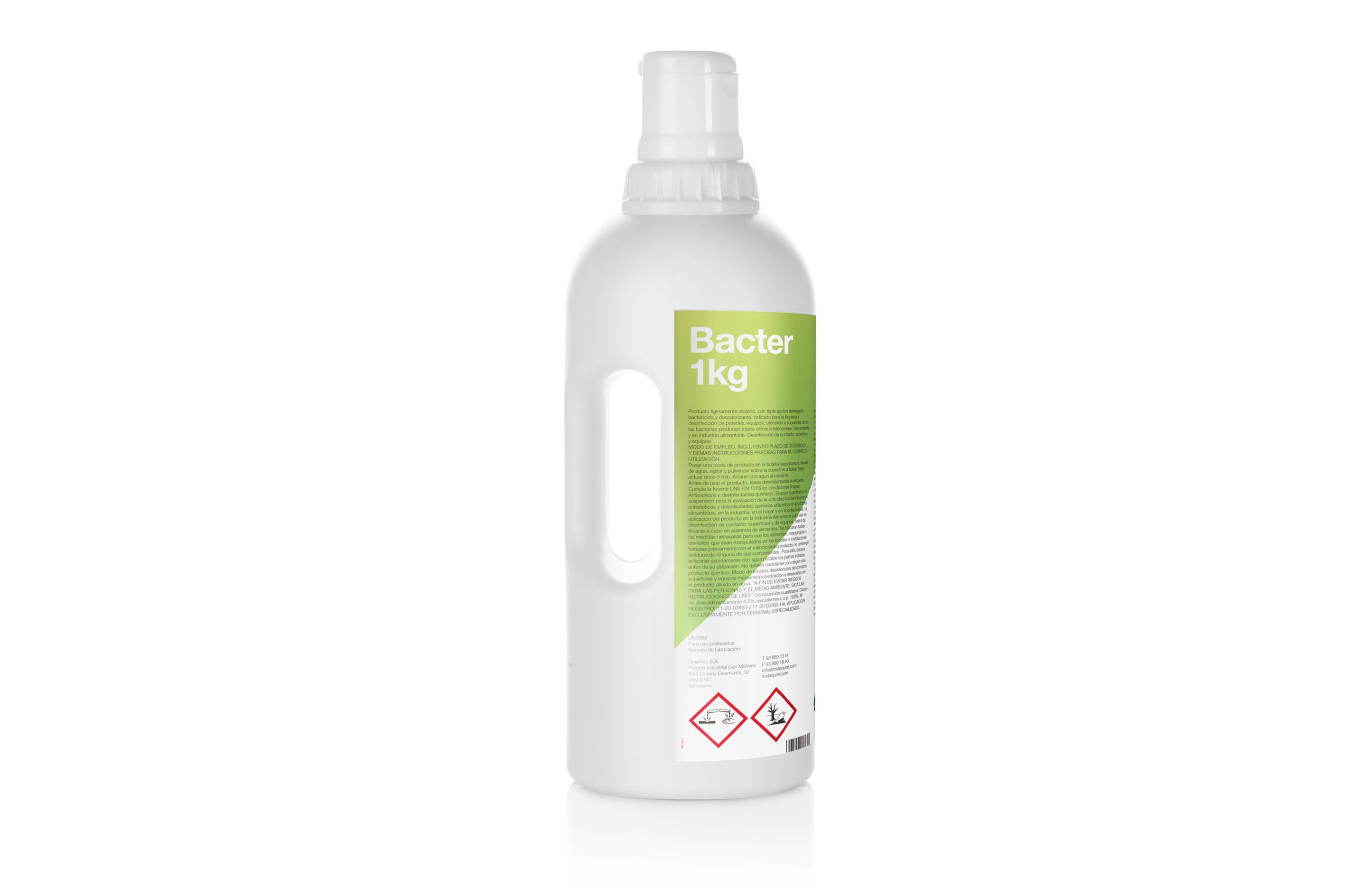 Bacter Autodosis, Detergent desinfectant