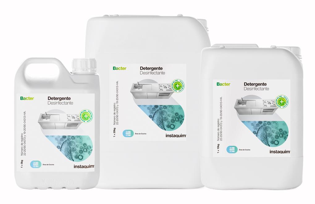 Bacter., Disinfectant detergent