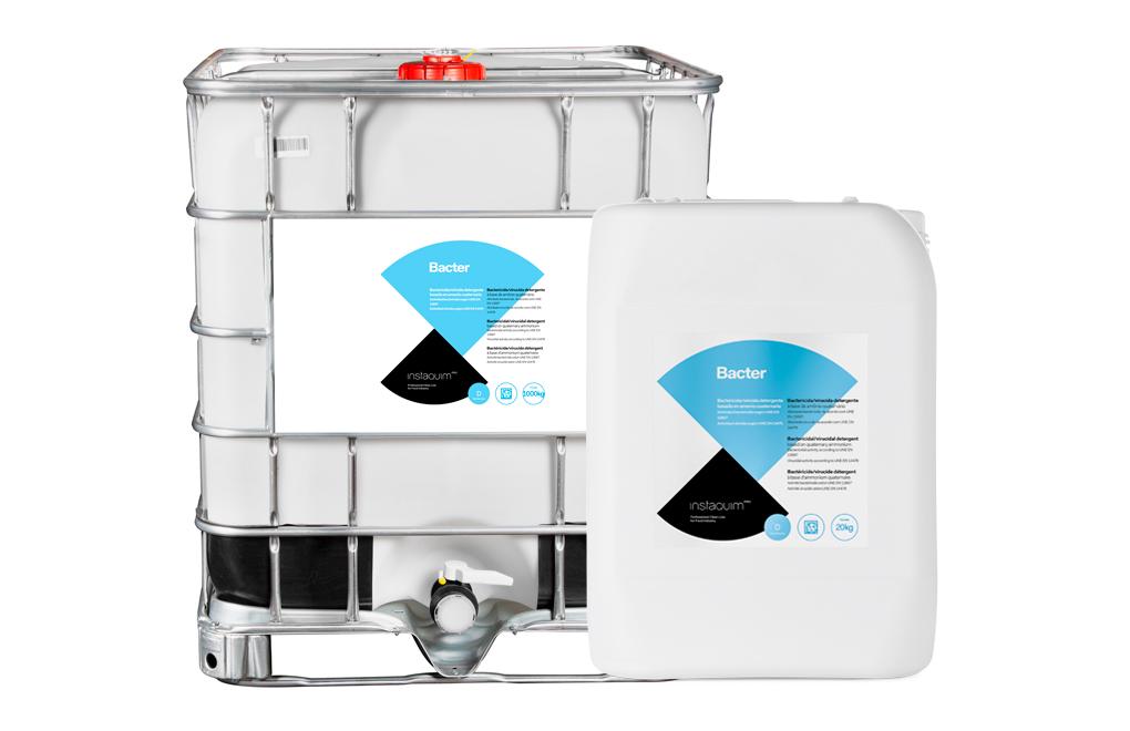 Bacter, Detergent desinfectant per la indústria alimentària