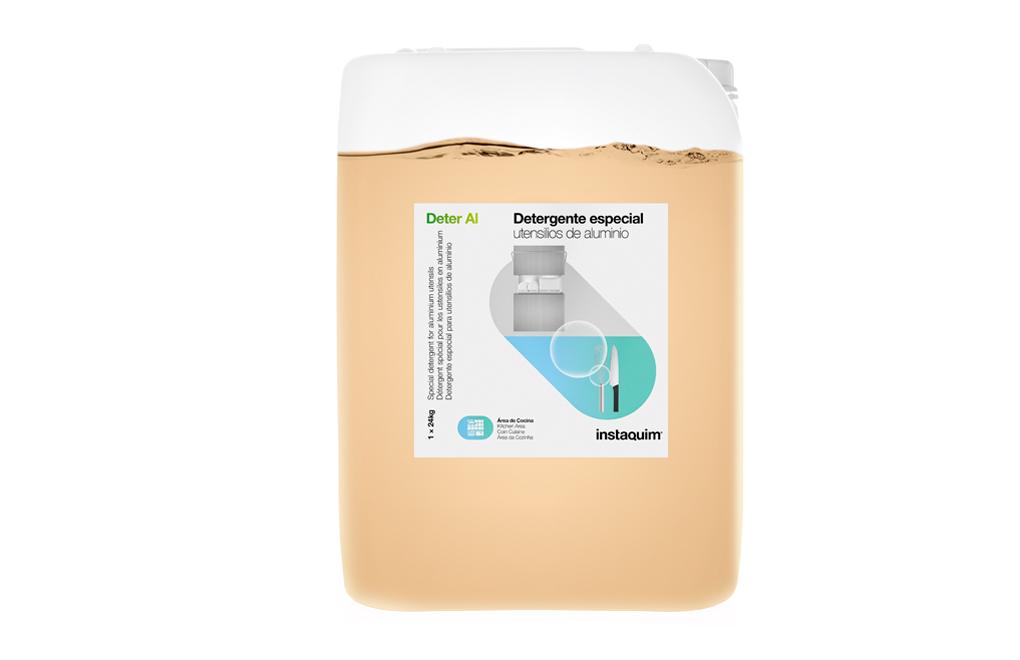 Deter Al, Detergent especial per a estris d'alumini