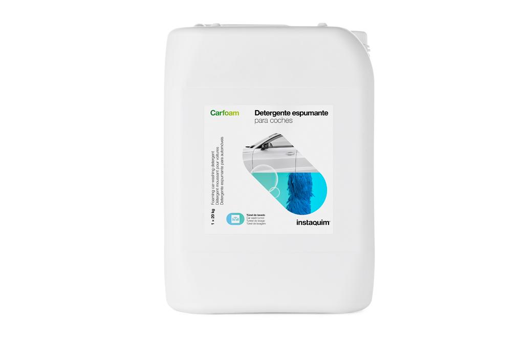 Carfoam, Detergent espumant per a cotxes