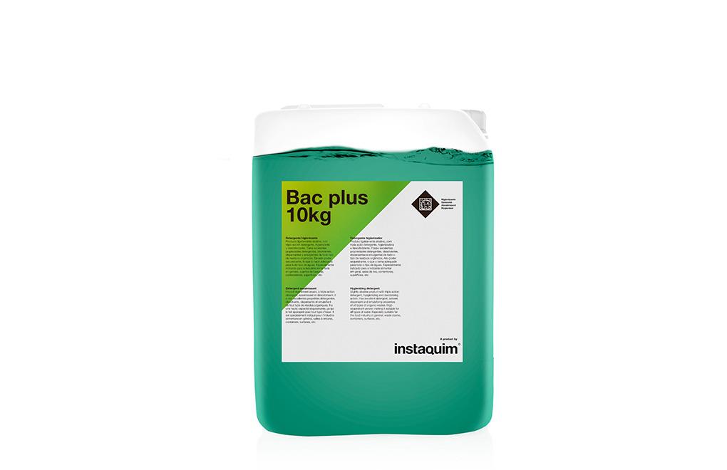 Bac Plus, Detergente higienizante