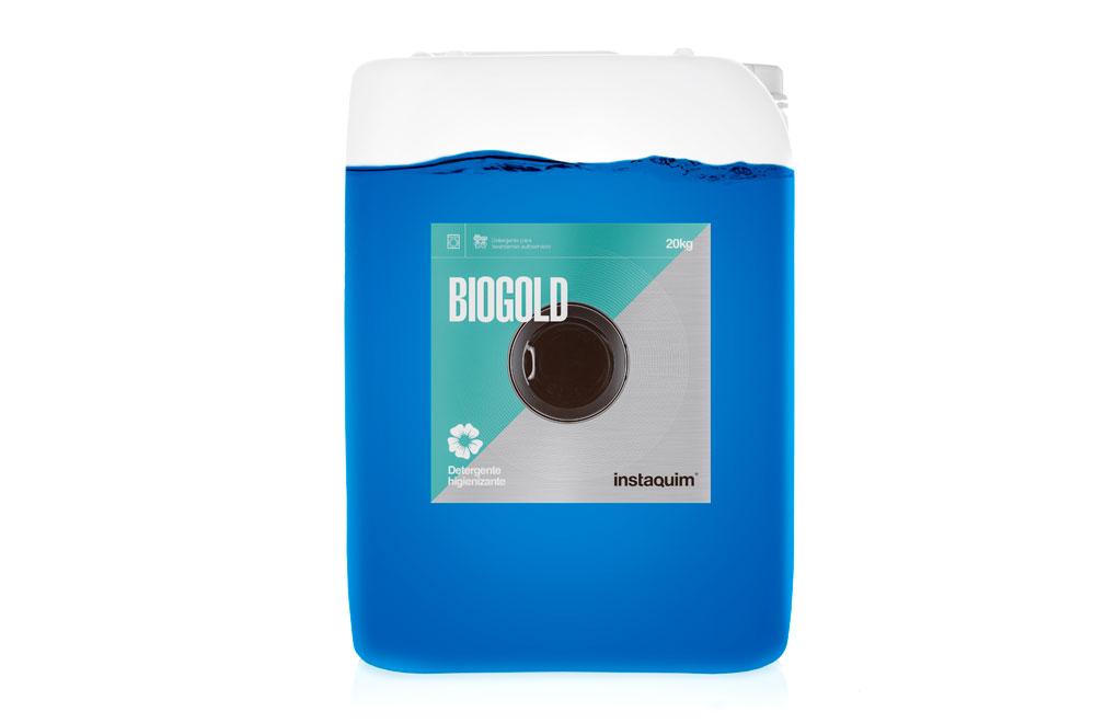 Biogold, Detergente higienizante para lavanderías de autoservicio