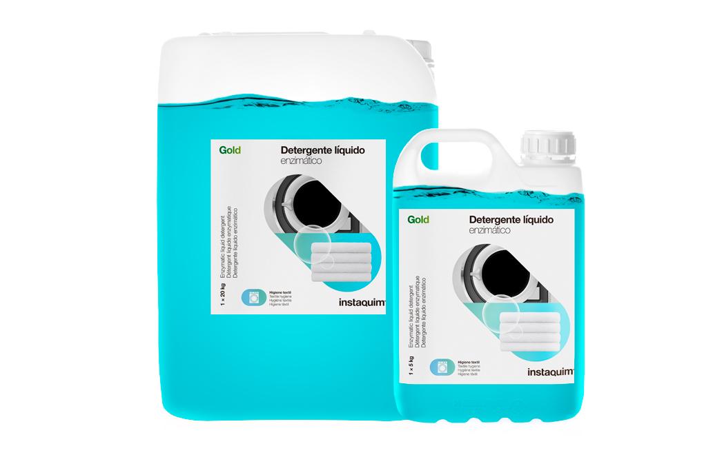 Gold, Detergente líquido enzimático