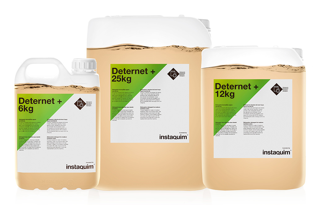 Deternet +, Detergente lavavajillas aguas semiduras