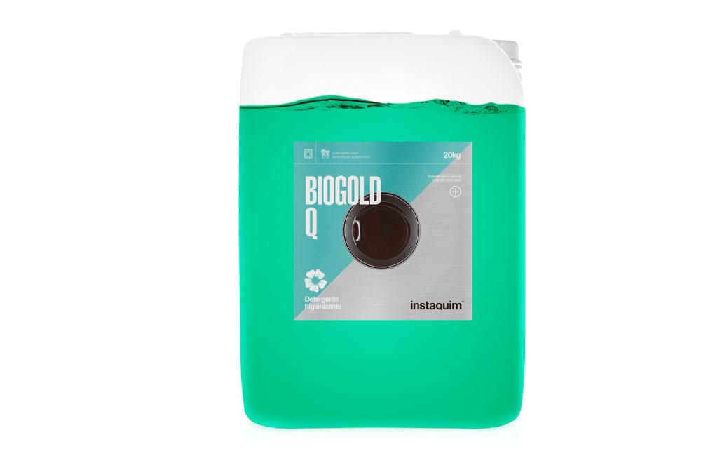 Biogold Q, Detergente líquido enzimático higienizante