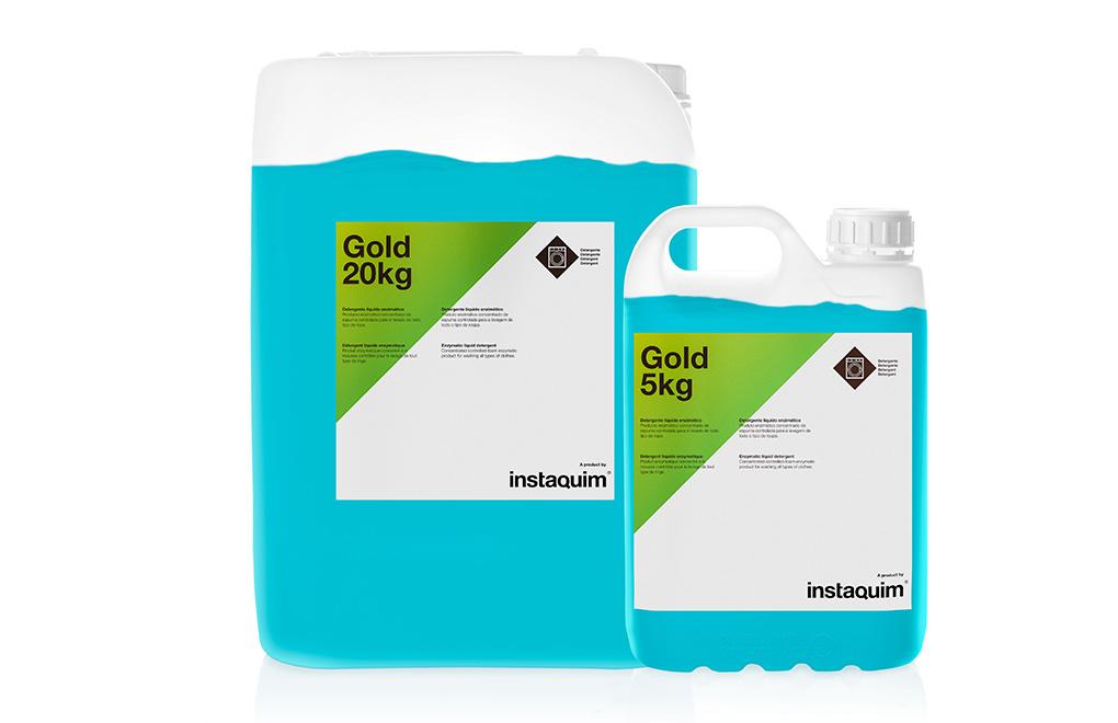Gold, Enzymatyczny detergent w płynie