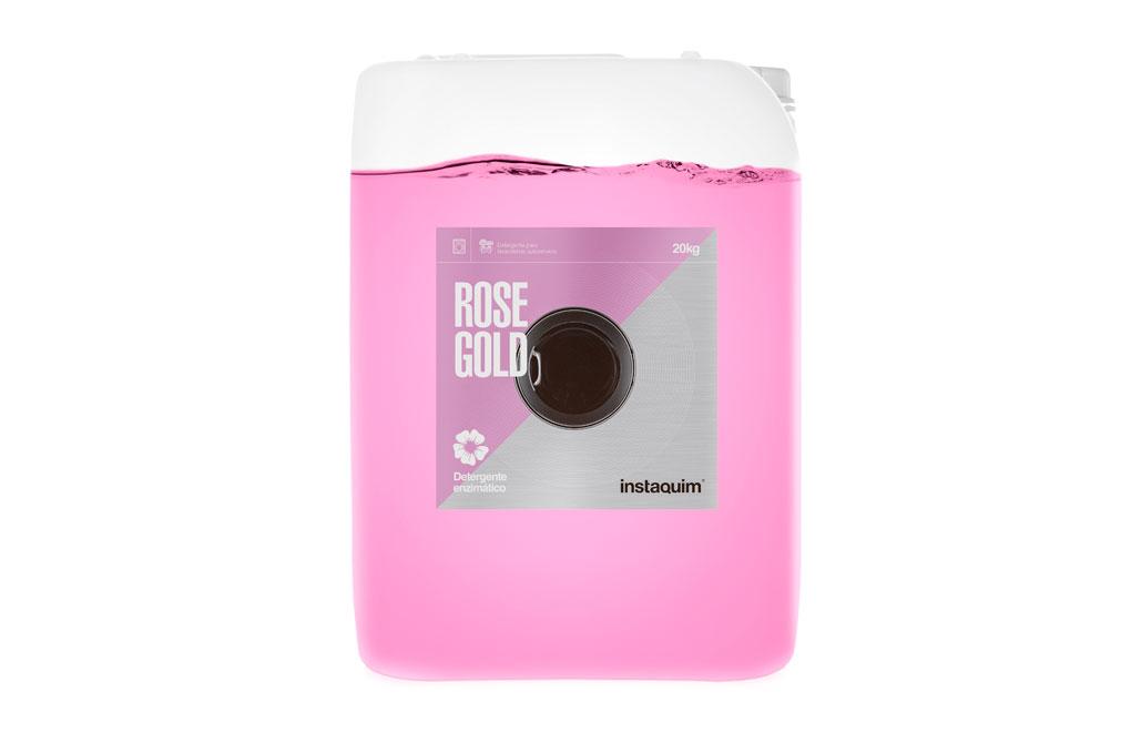 Rosegold, Détergent liquide blanchisserie libre-service