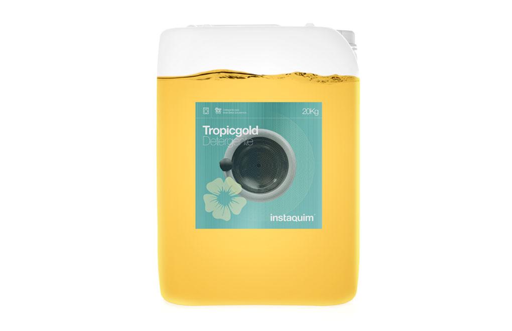 Tropicgold, Detergent líquid per bugaderia autoservei