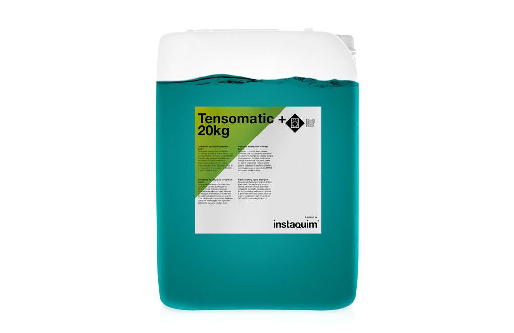 Tensomatic +, Detergente líquido para el lavado textil