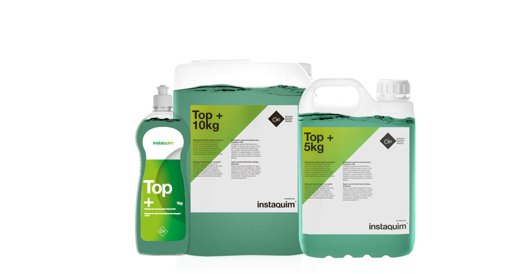 Top +, Detergente manual superconcentrado