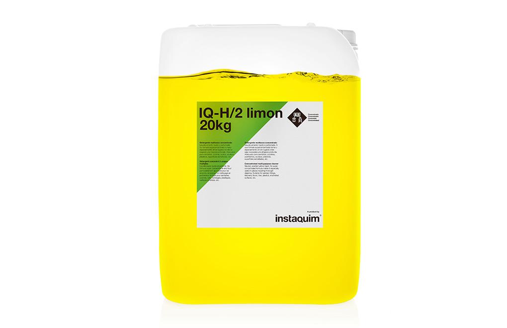 IQ-H/2 limón, Detergente multiusos concentrado