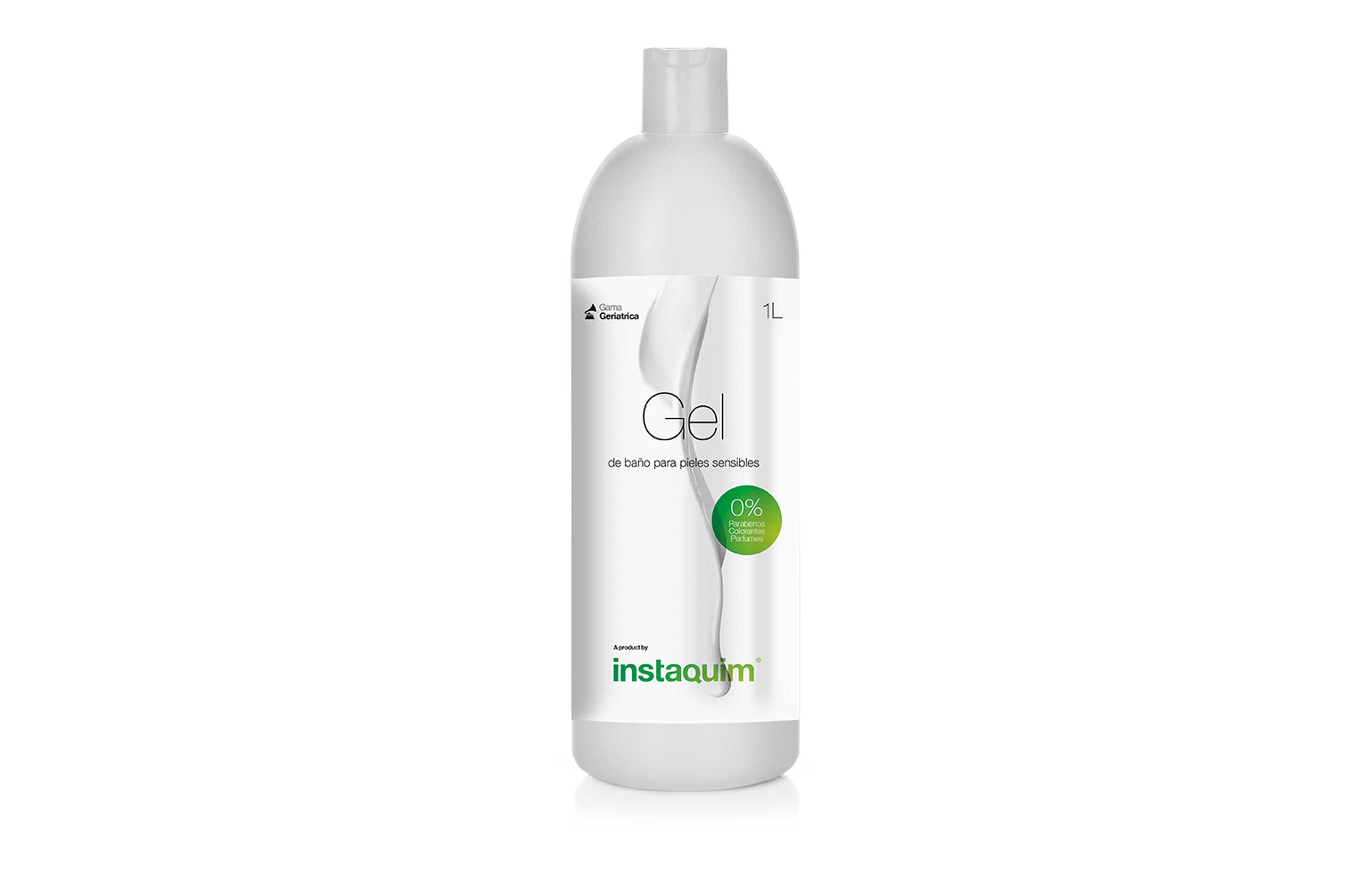 Gel de baño piel sensible 0%, Spécial pour peaux sensibles
