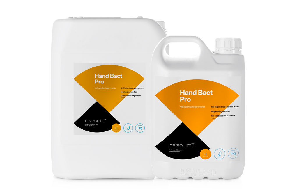 Hand Bact Pro, Gel higienizante para manos