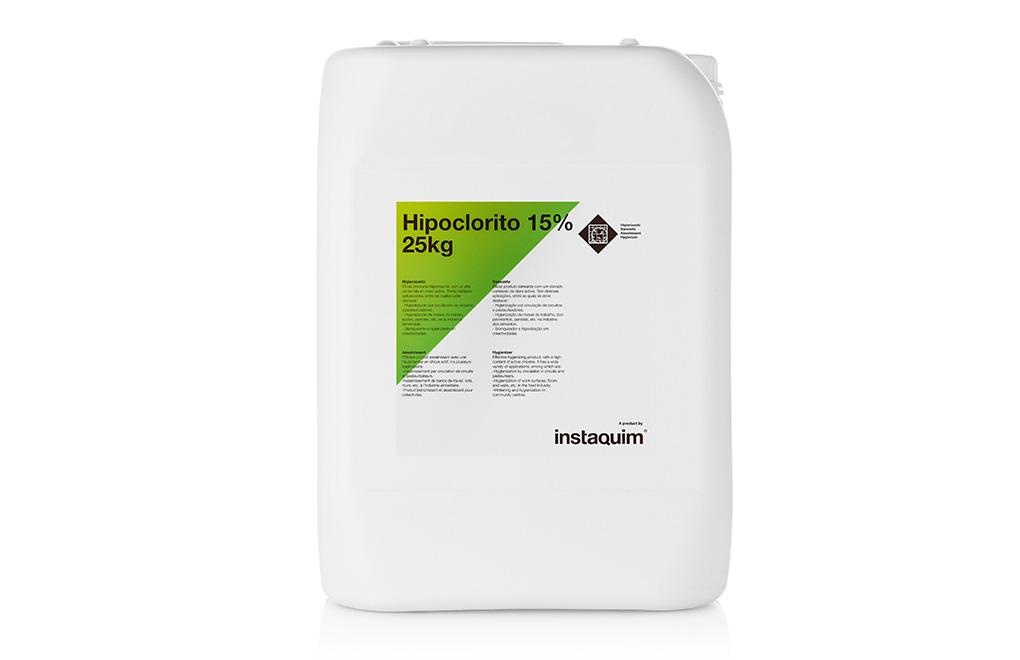Hipoclorito 15%, Higienizante