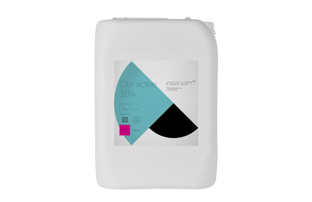 Clor Active 15%, Hipoclorito sódico en solución