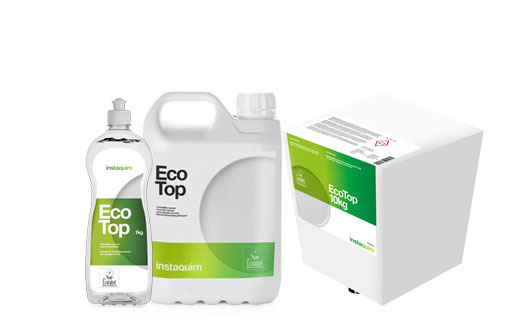 Eco Top, Lave vaisselle à la main ecolavel