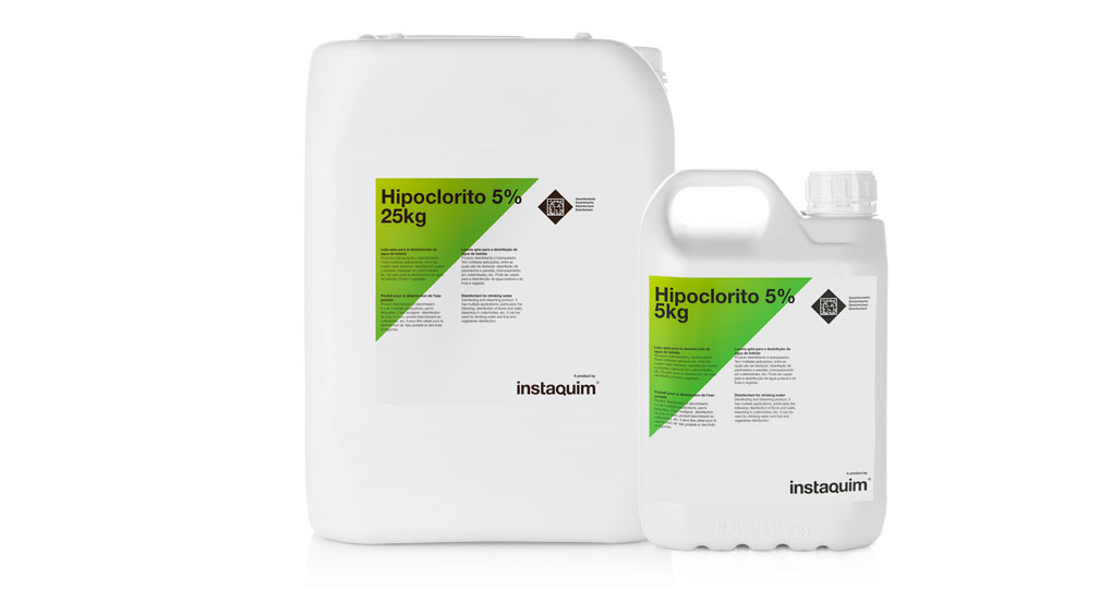 Hipoclorito 5%, Disinfectant for drinking water