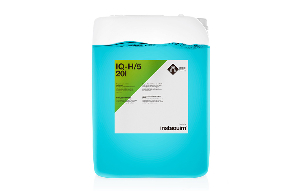 IQ-H/5, Limpiacristales multiusos concentrado