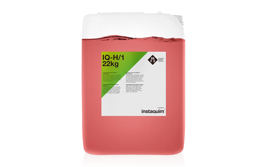 IQ-H/1, Limpiador ácido de sanitarios concentrado