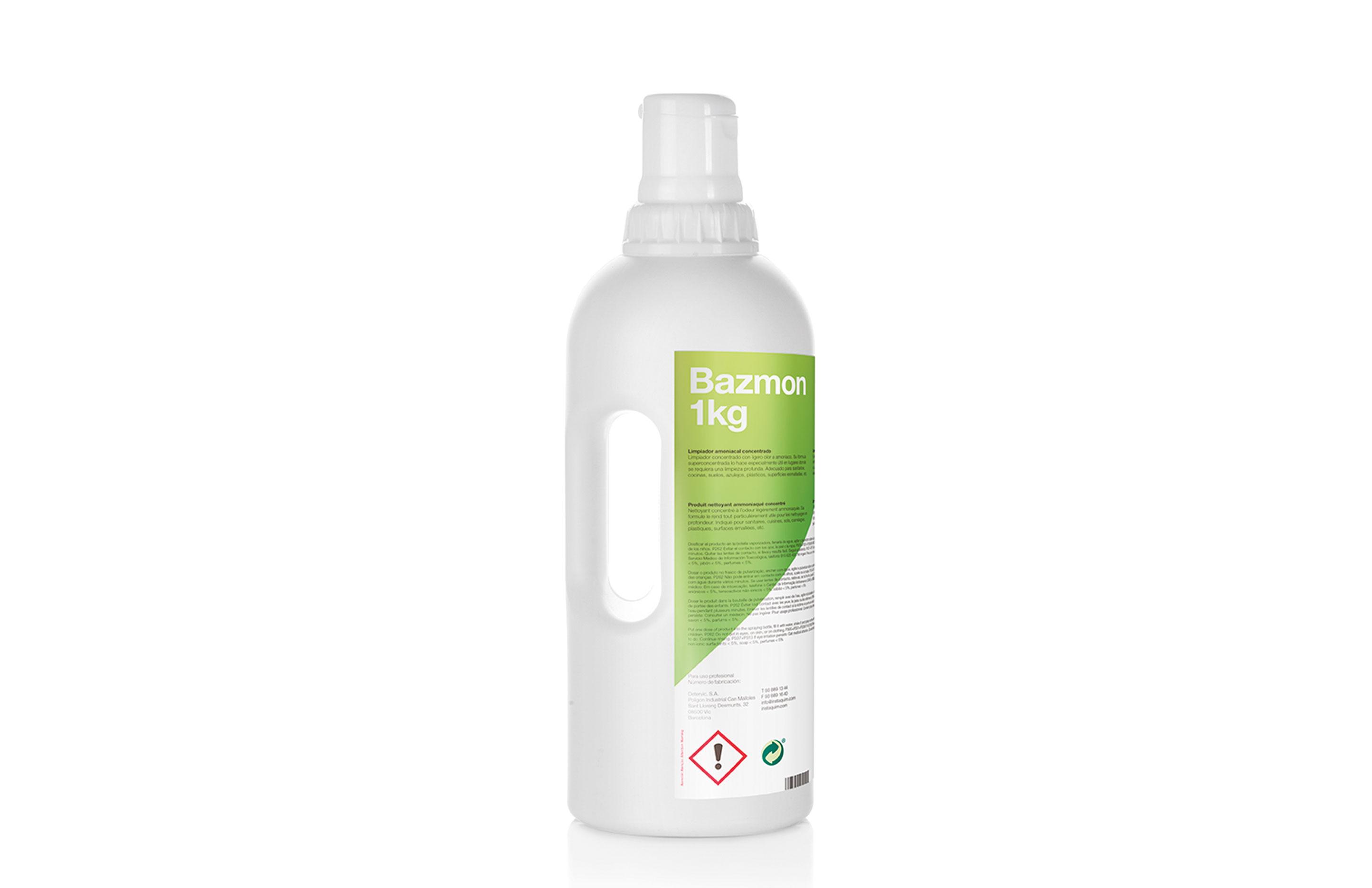 Bazmon, Produit nettoyant ammoniaqué concentré - Autodosis