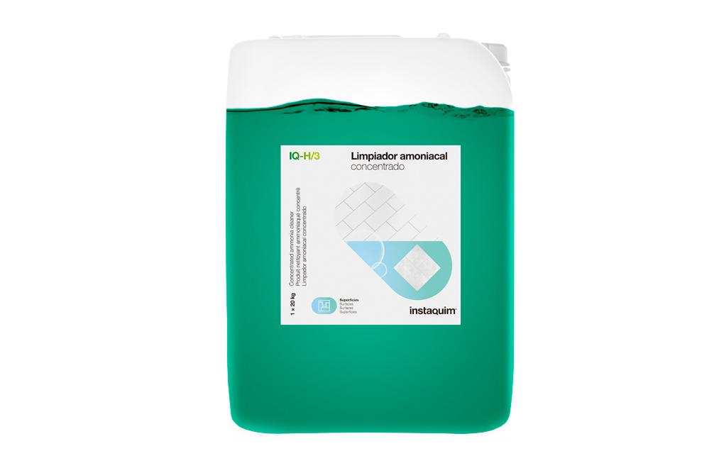 IQ-H/3, Limpiador amoniacal concentrado