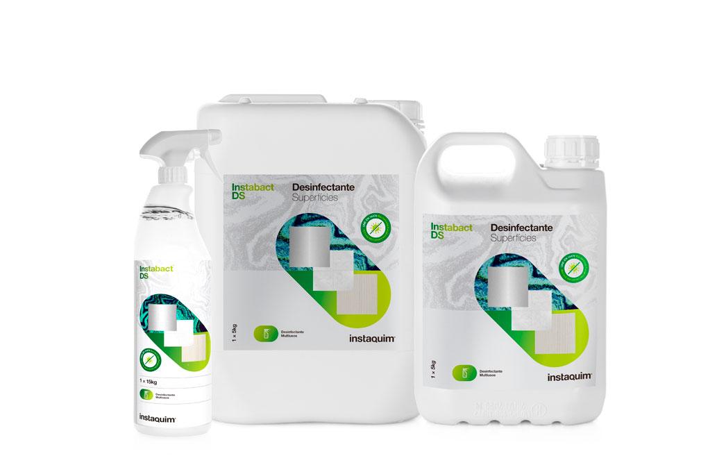 InstaBact® DS, Netejador bactericida, fungicida, levuricida i viricida