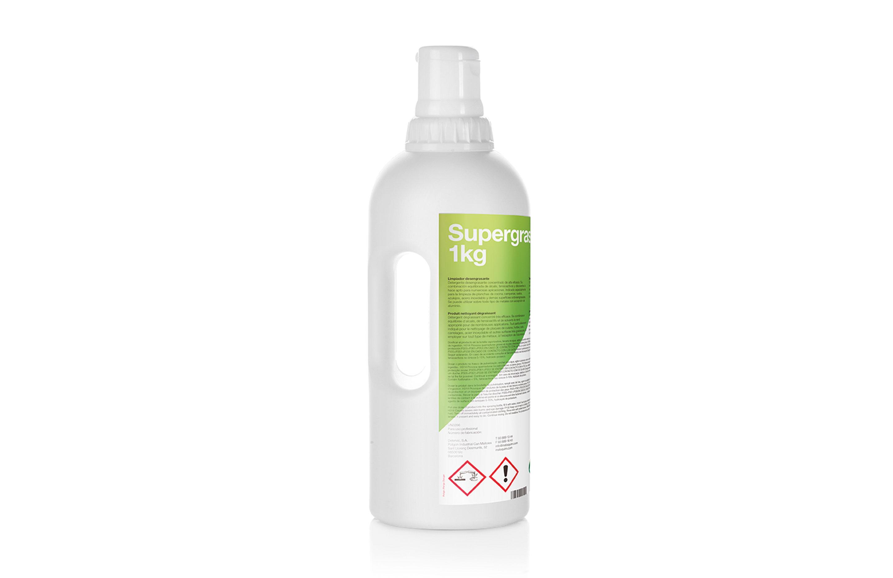Supergrass, Produit nettoyant dégraissant - Autodosis
